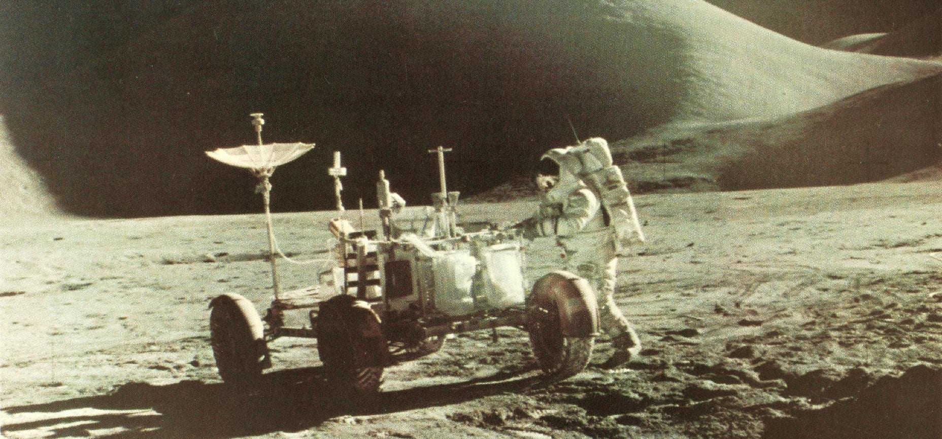 Apollo_15_on_Moon The Risks of Space Travel: Aliens and… Back Pain? Who Knew!