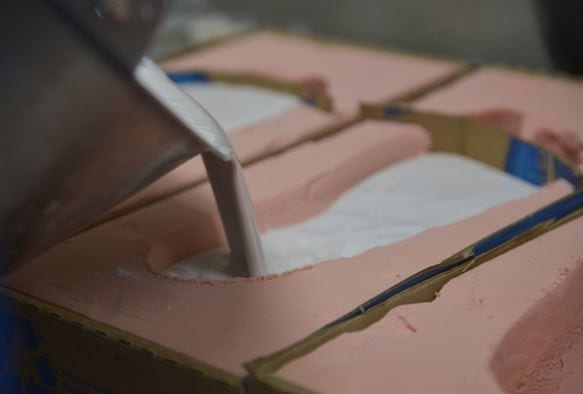 Molding a custom Foot orthotic