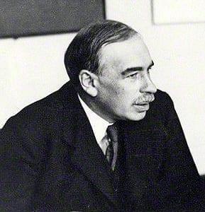 John Maynard Keynes in 1933
