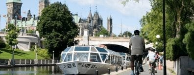Ottawa exercise by canal