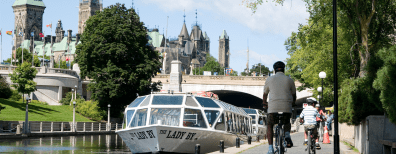 rideau-canal-cyclists-396x154 4 Reasons Why Rideau Canal is the Best Place to Run